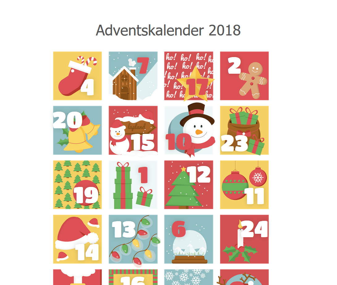 Adventskalender 2018 Kulturring